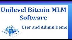 Bitcoin Unilevel Matrix Script - Unilevel Bitcoin Mlm Plan - Bitcoin Lending Script