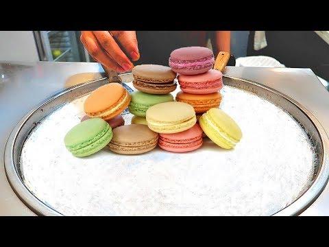 CUTE ICE CREAM ROLLS | MACARONS Ice Cream VS Hershey's Chocolate Ice Cream Vs Dunkin Donut