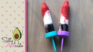 How To Make Easy Diy Popsicles With Kids! Holiday Or Summer Party Dessert! ❤ 4th Of July Popsicles!
