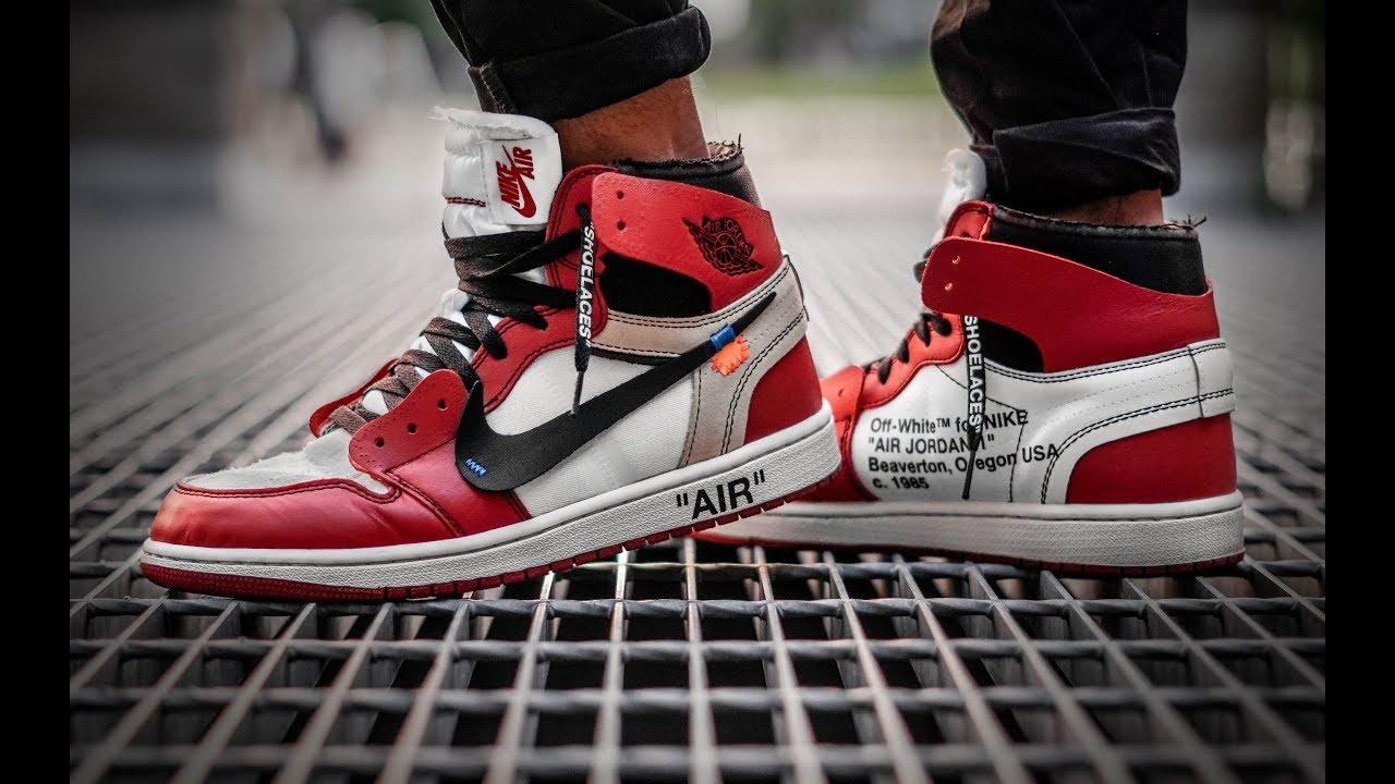 OFF WHITE AIR JORDAN 1 EARLY! DID I GET SCAMMED?? (OFF WHITE JORDAN 1 ON  FEET REVIEW)