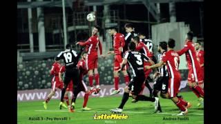 ORSOLINI, FAVILLI, ORSOLINI Goal (Ascoli 3 - Pro Vercelli 1) 14/02/17