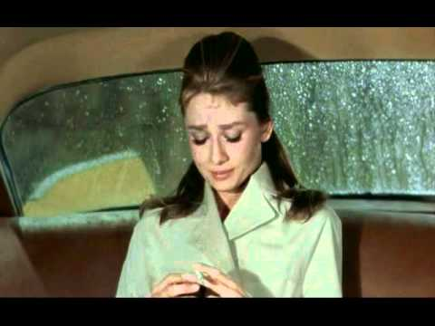 Breakfast at Tiffany's, the final scene.