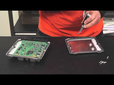 DIY - How to apply silicone to the inside of an ECU lid