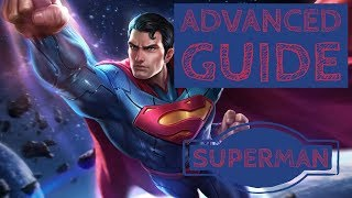 How to Win: Advanced Superman Game-play Guide - Arena of Valor