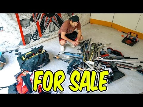 I'm Selling my Hockey Gear!