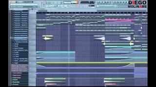 FL Studio Remake: Sidney Samson & Martin Garrix - Torrent (Drop) + Flp