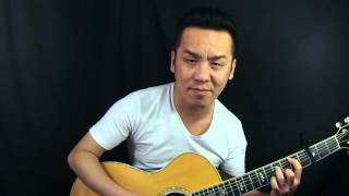 LR Baggs Anthem on Taylor 914ce 2003 model with the ES removed - Guitar Review in Singapore