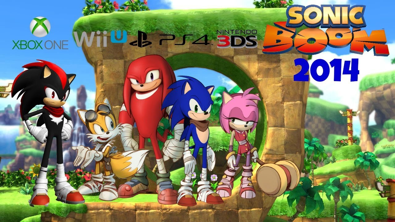 New Sonic Game For Ps4 : Sonic boom ps4 xbox one wii u gameplay commentary 2014 new!! youtube