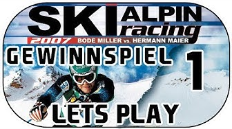 Let's Play Ski Alpin Racing 2007 German Part 1 [RTL][Deutsch]