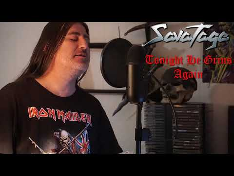 """Savatage """" Tonight He Grins Again """" ( vocal cover )"""