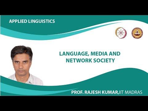 Language, Media and Network society