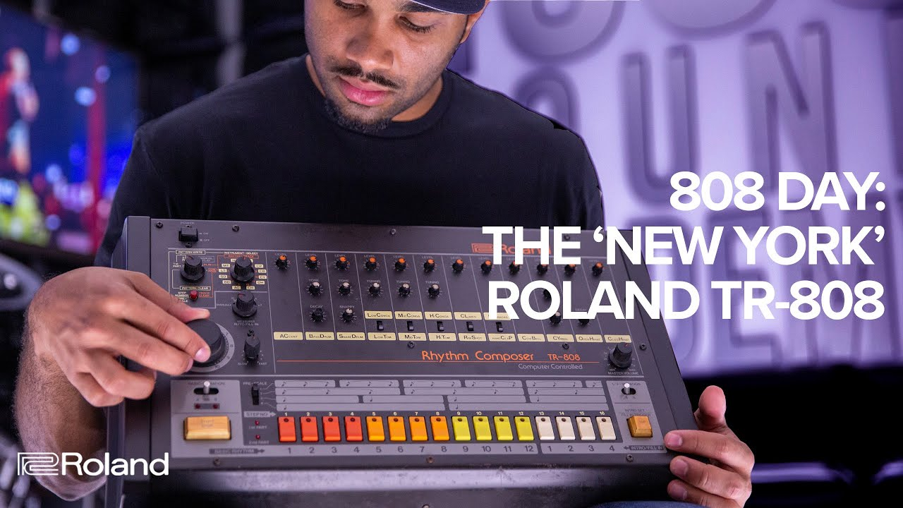 Roland showcases legendary TR-808 Drum Machine on 808 Day