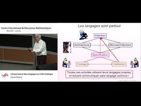 Gérard Berry : L'importance Des Langages En Informatique