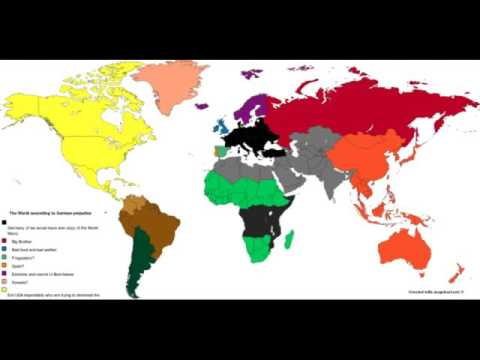 The world according to German prejudice