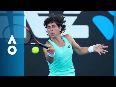 Carla Suárez Navarro v Timea Babos match highlights (2R) | Australian Open 2018