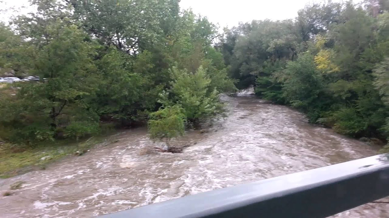 Flash Flood Cherry Creek Denver