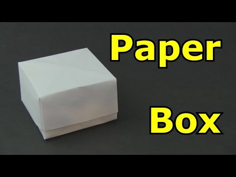 How to Make a Paper Box -Origami-