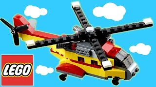 Lego Creator Cargo Heli 3 in 1 Construction Blocks Toy Set For Kids