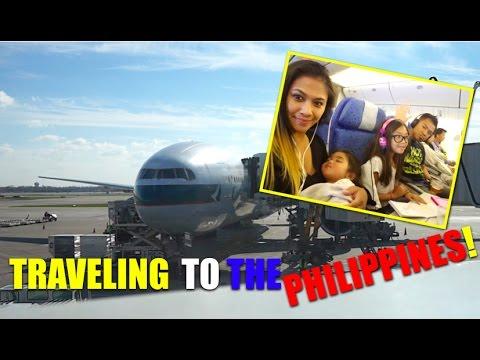 PHILIPPINES TRIP   PART 1   TRAVEL VLOG!!