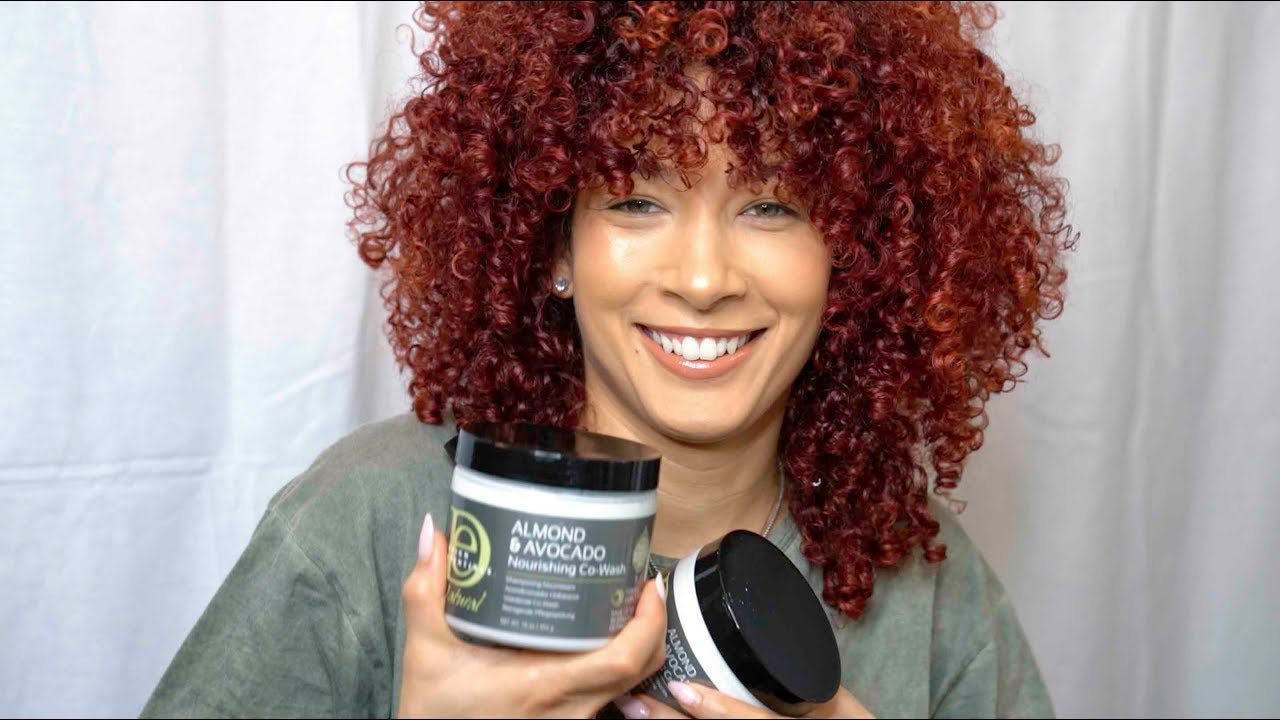 Wash N Go Using The Natural Almond Avocado Line By Design