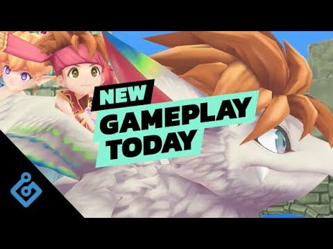 New Gameplay Today – Secret of Mana