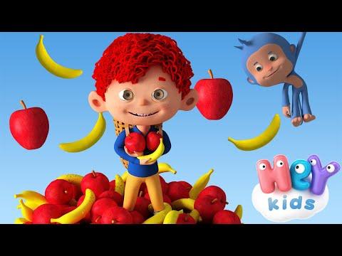 Banán és Alma 🍌 Gyerekdalok és mondókák - HeyKids thumbnail