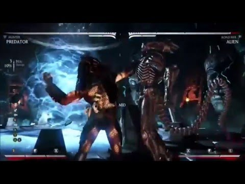 Alien V Predator MKX Combo Video