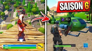 NEW VEHICULES ON FORTNITE SAISON 6 ?! AND NINJA WHO A DEJA THE SKIN GALAXY GAMEPLAY