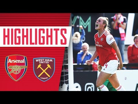 HIGHLIGHTS | Arsenal Women 2-1 West Ham United | Women's Super League