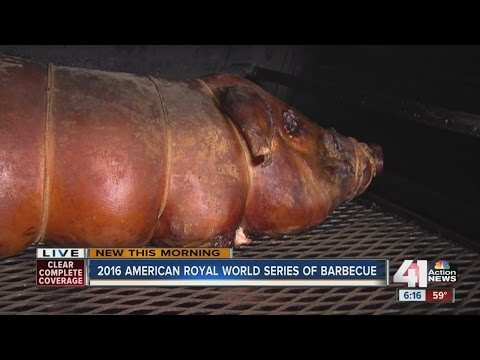 american royal barbecue begins youtube
