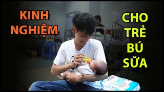 Quốc Chiến cho bé Tý bú sữa thuần thục rồi, lo lắng về tương lai của đứa trẻ | QUỐC CHIẾN VLogs