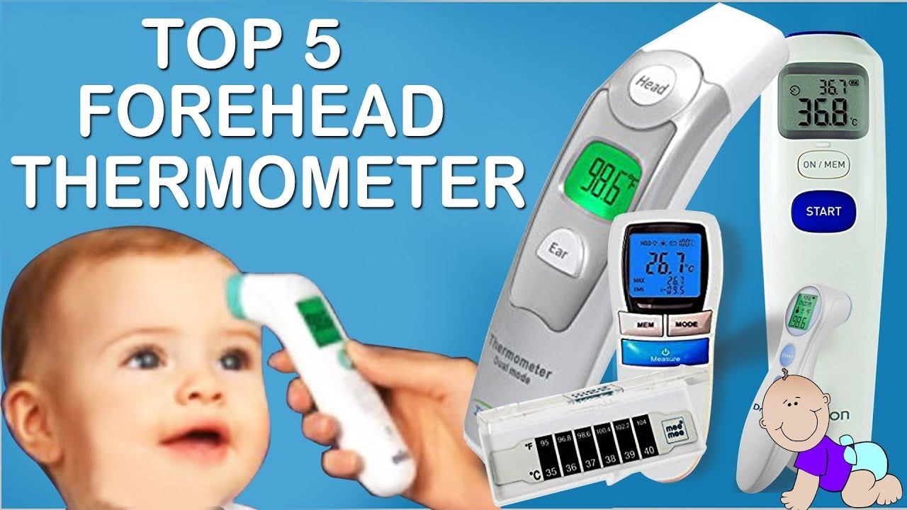 Top 5 Best Forehead Thermometer In 2018 - YouTube