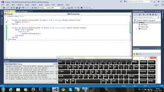 Visual Basic Tutorials ~ How to make a Hotkey to press Button in VisualBasic.net (HD)