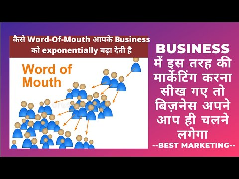 Importance Of Mouth Publicity In Your Business | Word Of Mouth Marketing