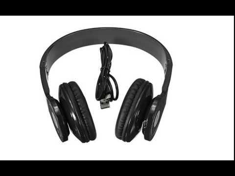 Mato® Bluetooth Headphone Earphone BQ 605 Black