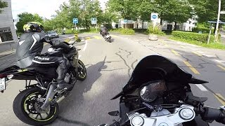 Group Ride | 4x RS4 50 | TZR 50 | YZF R125 (2017 - Switzerland)