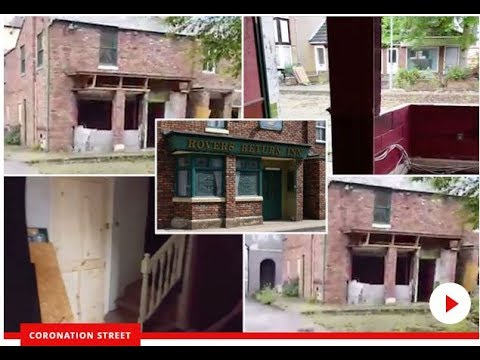 Sad remains of the iconic Rovers Return revealed as the old Coronation Street set is demolished