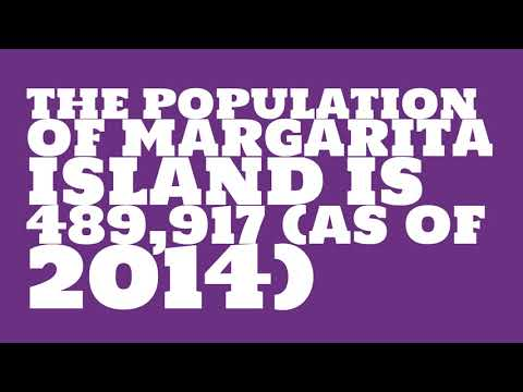 What is the population of Margarita Island?