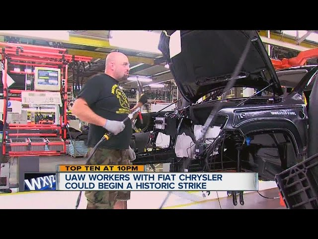 Fiat Chrysler facing UAW strike