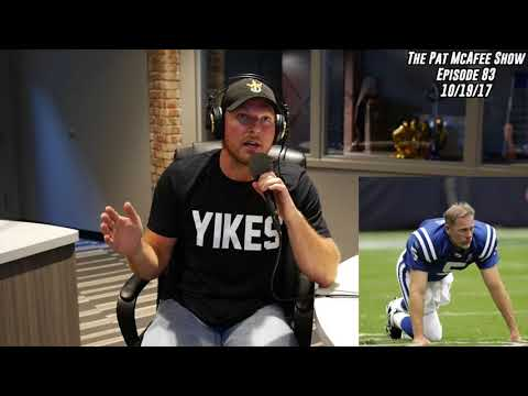 The Pat McAfee Show Simulcast Ep. 83- Pat Sits Down With Former Teammate Dan Orlovsky 10-19-17