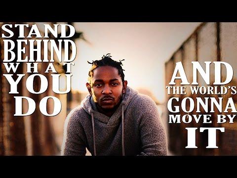 KENDRICK LAMAR ON THE IMPORTANCE OF ART (Kendrick Lamar Motivational Video, Inspirational Words)