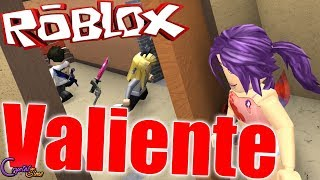 I HAVE TO BE VALIENT I'm going to hide MURDER MYSTERY ROBLOX CRYSTALSIMS