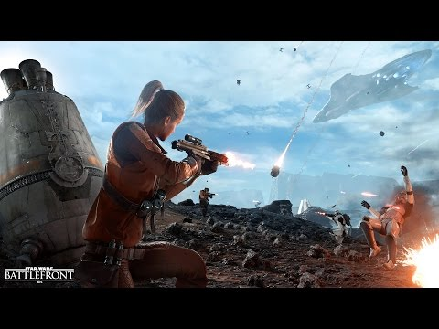 Star Wars Battlefront News: King of the Hill Drop Zone Mode Revealed! New Swampland Endor Map!