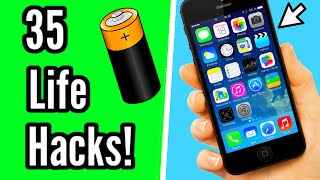35 amazing life hacks everyone should know!