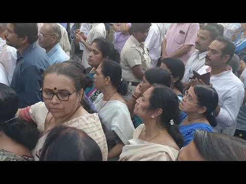 Manohar Parrikar's Funeral Procession in Goa.