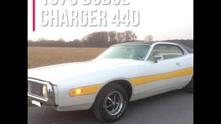 Dodge Charger 1973 V8 sound (factory original)