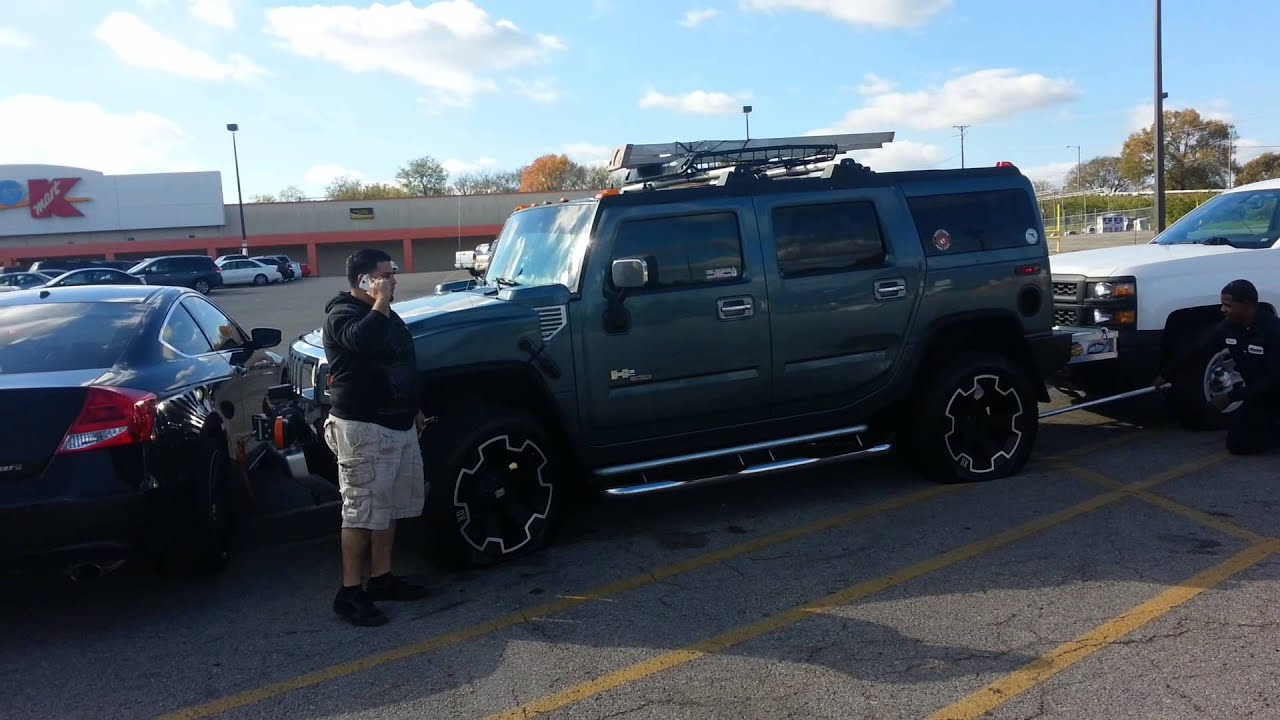 Hummer H2 rims s repoed