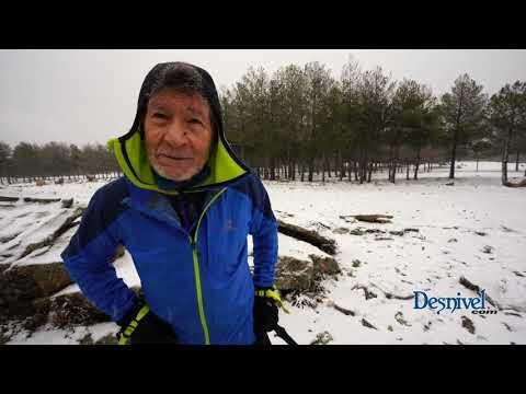 Último día entrenamiento de Carlos Soria con 78 años