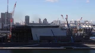 【東京2020大会】有明アリーナ タイムラプス映像
