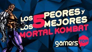 Gamers Top - Los 5 peores y 5 mejores Mortal Kombat